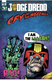 JUDGE DREDD CRY OF THE WEREWOLF (IDW)