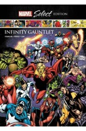 INFINITY GAUNTLET MARVEL SELECT HC