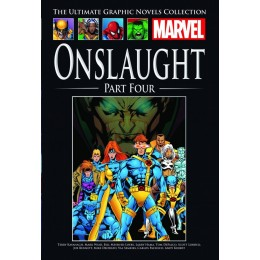 MARVEL Ultimate Graphic Novels Coll 198 HC Onslaught Part Four