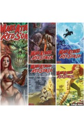 Mars Attacks Red Sonja (Dynamite Entertainment 2020) Complete set