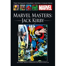 MARVEL Ultimate Graphic Novels Coll 204 HC Marvel Masters: Jack Kirby