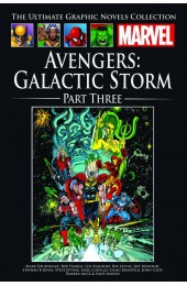 MARVEL Ultimate Graphic Novels Coll 186 HC Avengers Galactic Storm Part Three