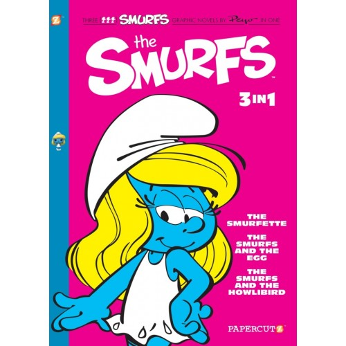 The Smurfs 3-in-1 #2: The Smurfette, The Smurfs and the Egg, and The Smurfs and the Howlibird TP