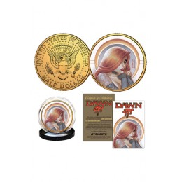 JOSEPH MICHAEL LINSNER'S DAWN COLLECTIBLE GOLD COIN - COIN A