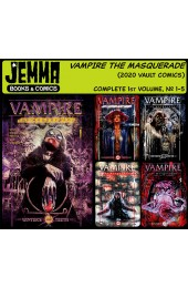 VAMPIRE THE MASQUERADE (2020 Vault Comics) SET #1-5
