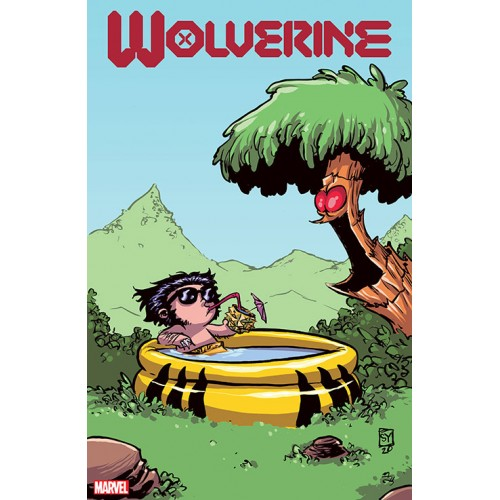 WOLVERINE #1 YOUNG VAR DX (Marvel 2020)