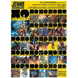 X-O MANOWAR (2017) VALIANT COMPLETE SERIES SET