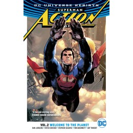 Superman - Action Comics Rebirth Vol 2: Welcome to the Planet TPB (DC)