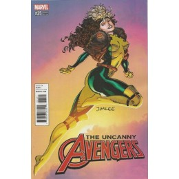 Uncanny Avengers #25 Jim Lee Trading Card Variant Covers