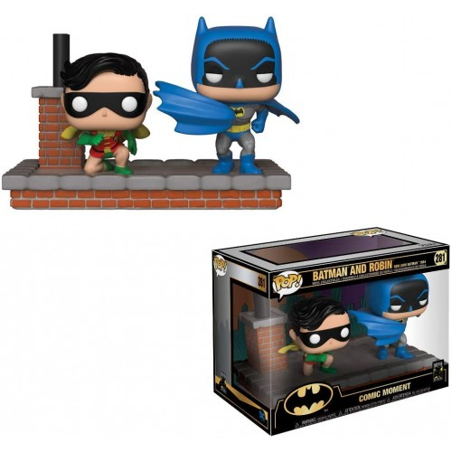 Funko Pop! Comic Moment: 1964 New Look Batman and Robin (Batman 80th)
