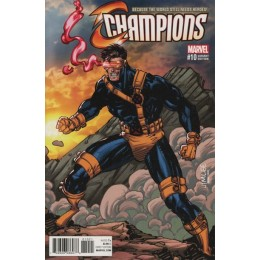 Champions #10 Jim Lee Trading Card Variant Covers