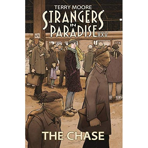 Strangers In Paradise XXV The Chase TP (Abstract Studio)