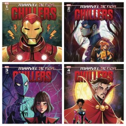 Marvel Action Chillers Complete Mini Series