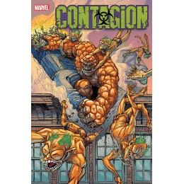 CONTAGION #1-5 COMPLETE CONNECTING RYAN BROWN VARIANTS SET (MARVEL)