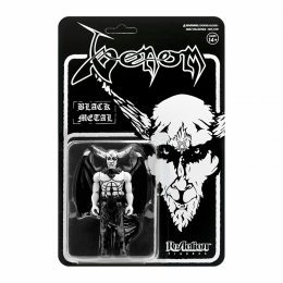Venom ReAction Figure Black Metal