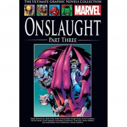 MARVEL Ultimate Graphic Novels Coll 196 HC Onslaught Part Three