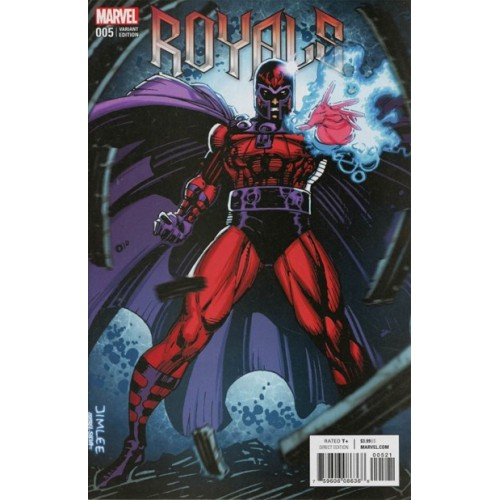 Royals #5 Jim Lee Trading Card Variant Covers