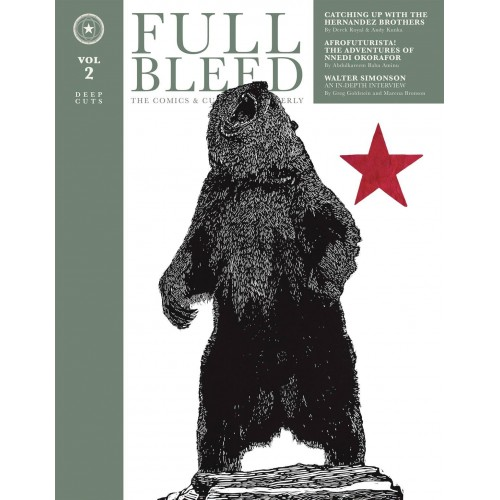 Full Bleed Comics & Culture Quarterly HC VOL 02 (IDW)