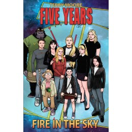 Five Years Vol. 1: Fire In The Sky TP (Abstract Studio)