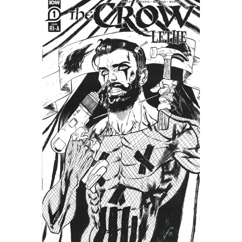 The Crow: Lethe #1 Retailer Incentive Variant Cover A (IDW)