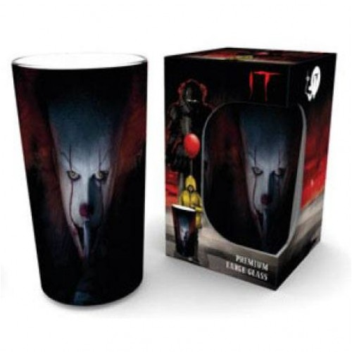 IT- Premium Large Glass Pennywise