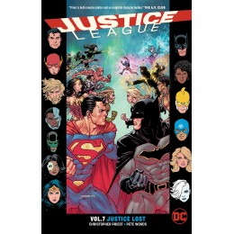 Justice League Vol 7: Justice Lost TP (DC)