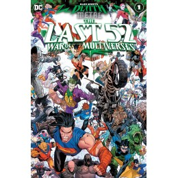DARK NIGHTS DEATH METAL THE LAST 52 WAR OF THE MULTIVERSES #1 (ONE SHOT)
