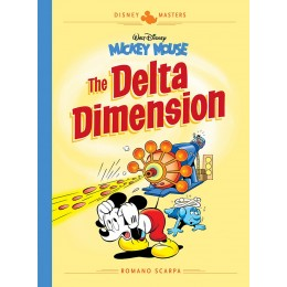 Walt Disney's Mickey Mouse: The Delta Dimension HC (Fantagraphics Books)