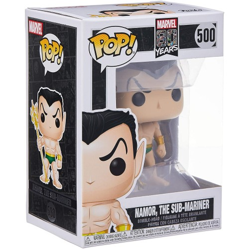 Funko Pop! Marvel 80th: First Appearance - Namor, Multicolor