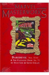 Marvel Masterworks Vol. 74 Daredevil Ltd. Ed. Marble Variant Daredevil Nos. 33 - 41 & the Fantastic Four No. 73