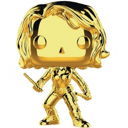 Marvel Studios 10th Anniversary - Black Widow (Gold Chrome) Funko Pop! Vinyl Figure