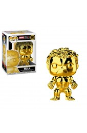 Funko Pop Marvel: Marvel Studios 10 - Hulk (Gold Chrome) Collectible Figure, Multicolor