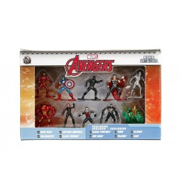 Avengers Marvel Nano Metalfigs Die Cast Mini Figures 10 pack Wave 1
