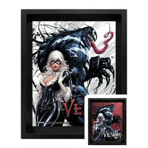 Venom Framed 3D Lenticular Poster Pack Teeth and Claws