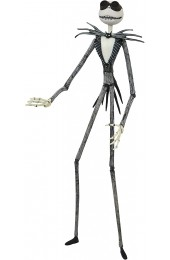 DIAMOND SELECT TOYS The Nightmare Before Christmas: Snowmobile Jack Skellington Action Figure