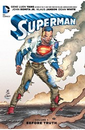Superman Vol 1: Before Truth HC (DC)