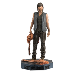 The Walking Dead Daryl Dixon Figure with Collector Magazine #20