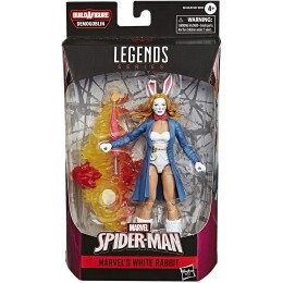 Spider-Man Marvel Legends White Rabbit 6'' A/F