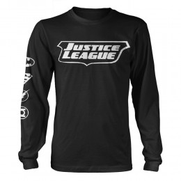 Justice League Icons Long Sleeve T/S (Large)