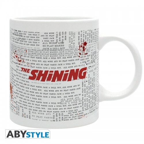 THE SHINING Mug Typewriter
