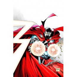 SPAWN #300 Todd McFarlane and Greg Capullo 1:25 Virgin Variant Cover K