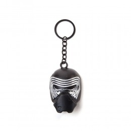 Star Wars The Force Awakens Kylo Ren Mask 3D Pendant Metal Keychain