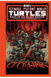 Teenage Mutant Ninja Turtles Road To 100 Deluxe Edition HC (IDW)
