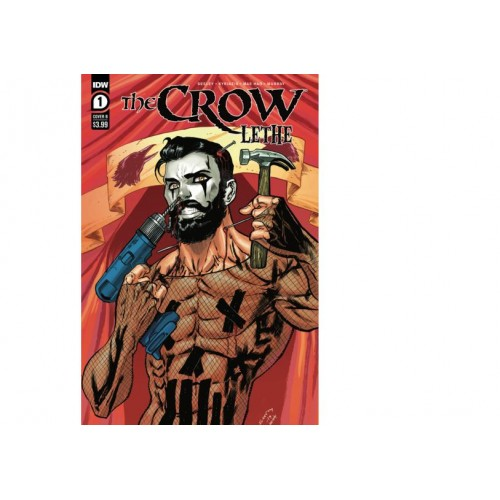 Crow: Lethe - Complete Set Issues 1-3 ( Tim Seeley Covers)