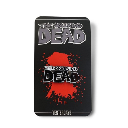 The Walking Dead Logo Pin
