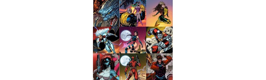 Jim Lee Trading Card Variant Covers